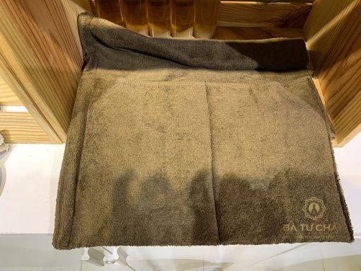 khăn dùng trong đá chườm gan